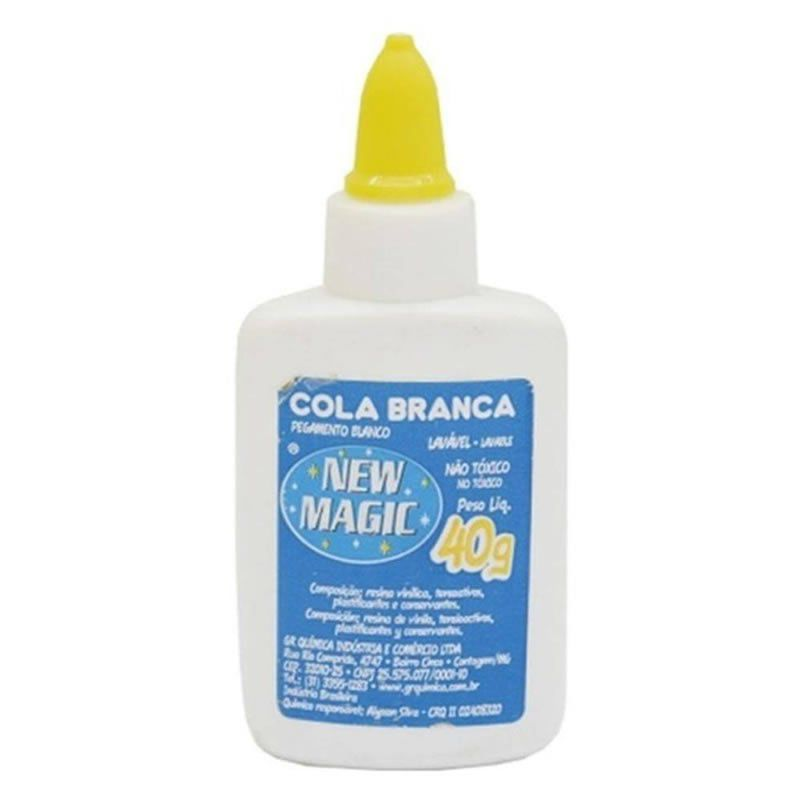 Cola Branca 40Gr New Magic 10678