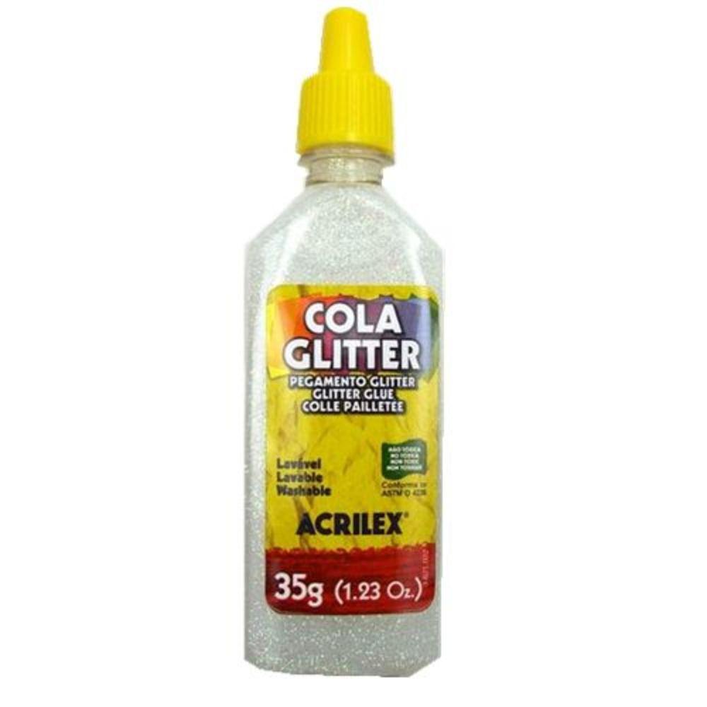 Cola Com Glitter Acrilex Cristal 209 03954