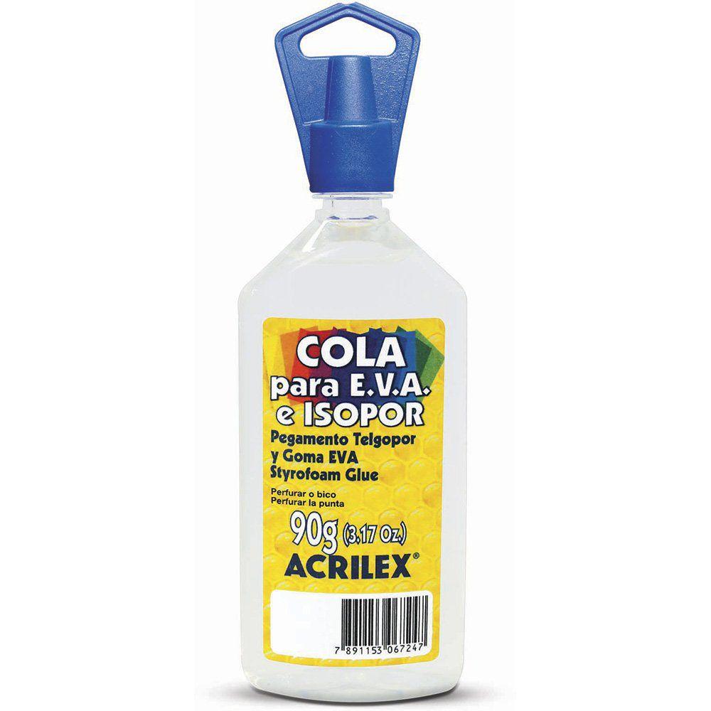 Cola Isopor e E.V.A Acrilex 90G  17390 18114