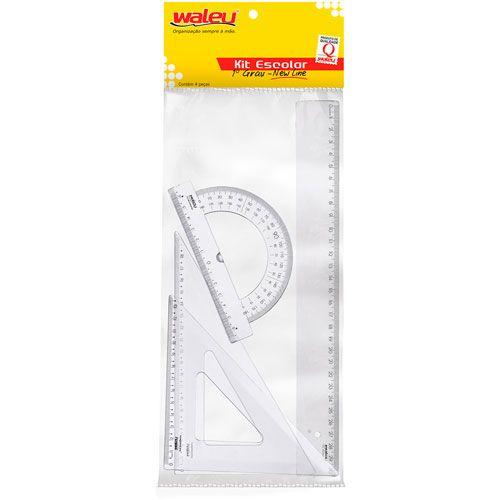 Conjunto Waleu para desenho 1º Grau 750 16133
