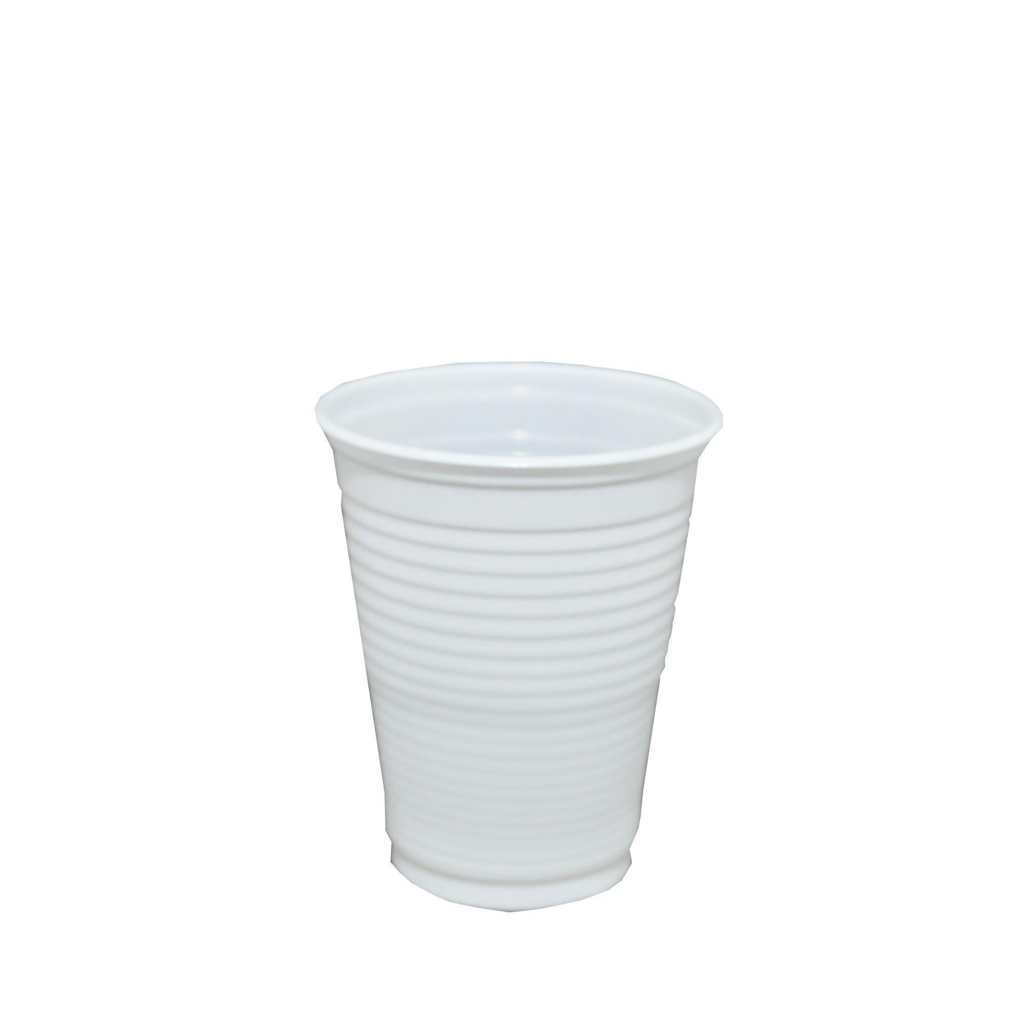 Copo Plastico Em PP Copobras 200 Ml Padrao Abnt Com 100 Un 201096 15966