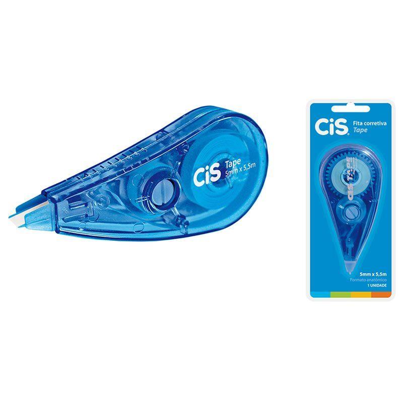 Corretivo em Fita CiS Tape 5mm X 5m 4.2003 21017