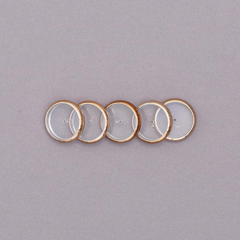 Disco Caderno Inteligente 23mm M Dourado 12 Un + Elástico CI231012 27328