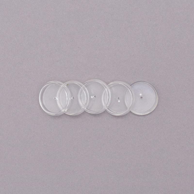 Disco Caderno Inteligente 23mm M Transparente 12 Un + Elástico CI231020 27330