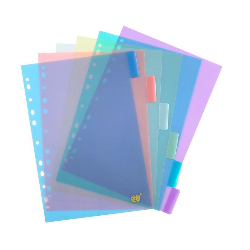 Divisória Cristal Transparente A4 12 Projeções 12INTBA Cores Sortidas Yes 17802
