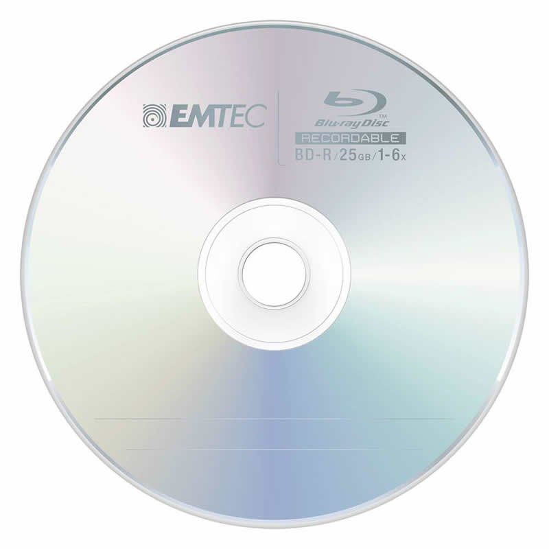 DVD Emtec Blu Ray 25 Gb 16163