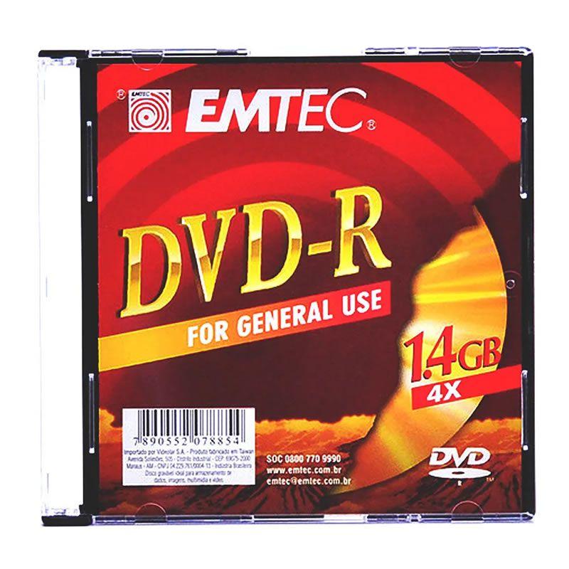 DVD-R Emtec 4.7 Gb 8X Slim 130000191 7207 14622