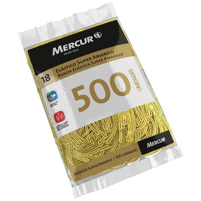 Elástico Super Amarelo Nº 18 Com 500 Un. B0501020407009 Mercur 21784