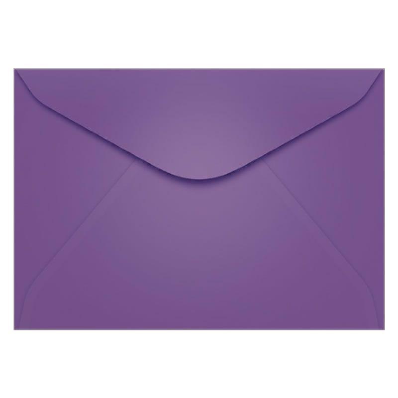 Envelope Colorido Scrity Amsterdan / Lilas 114X162Mm 80G Com 10 Un Ccp436 20324