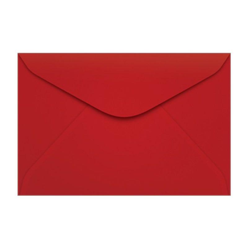 Envelope Colorido Scrity Toquio / Vermelho 114X162Mm 80G Com 10 Un Ccp43 20325