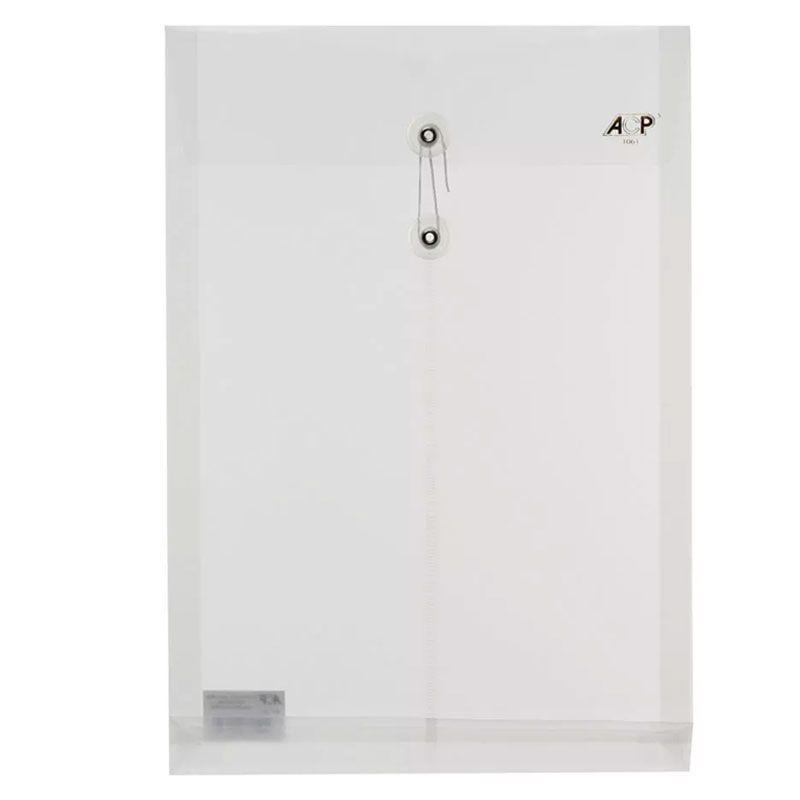 Envelope Plástico Vai-Vem ACP 260X370 PP Line Cristal 1061.Cr 03046