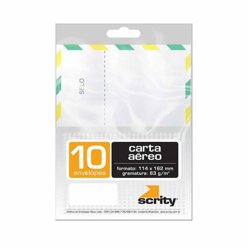 Envelope Scrity Aereo Pitt 15 S 114X162M 63G 10 Un Cof115 02697