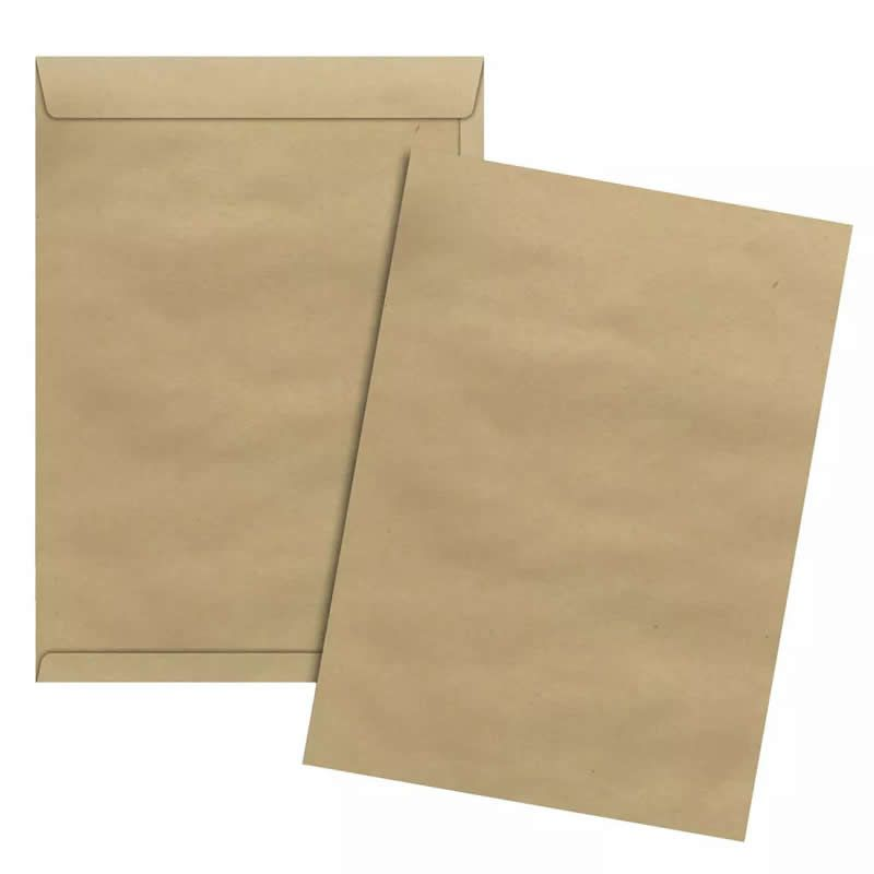 Envelope Scrity Saco Kraft 125X176Mm 80G Com 250 Un Skn018 02706