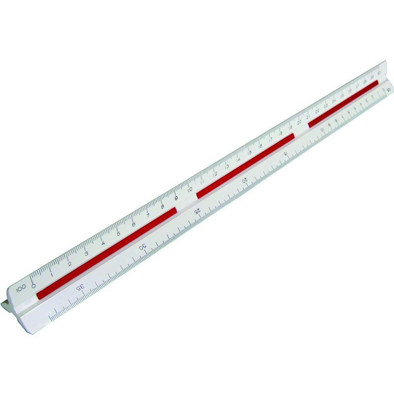 Escalimetro Trident 30cm 7830/1B 17053
