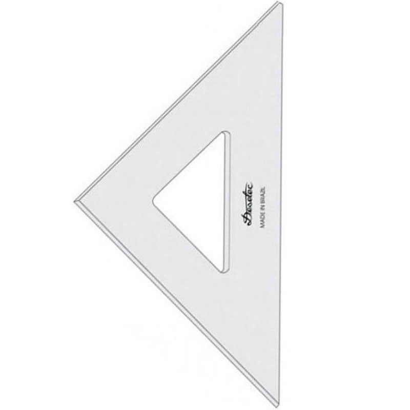 Esquadro Trident 28cm 45 Graus 2mm 2528 17043