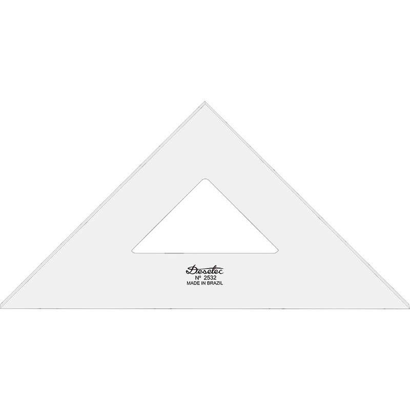 Esquadro Trident 32cm 45 Graus 2mm 2532 17048