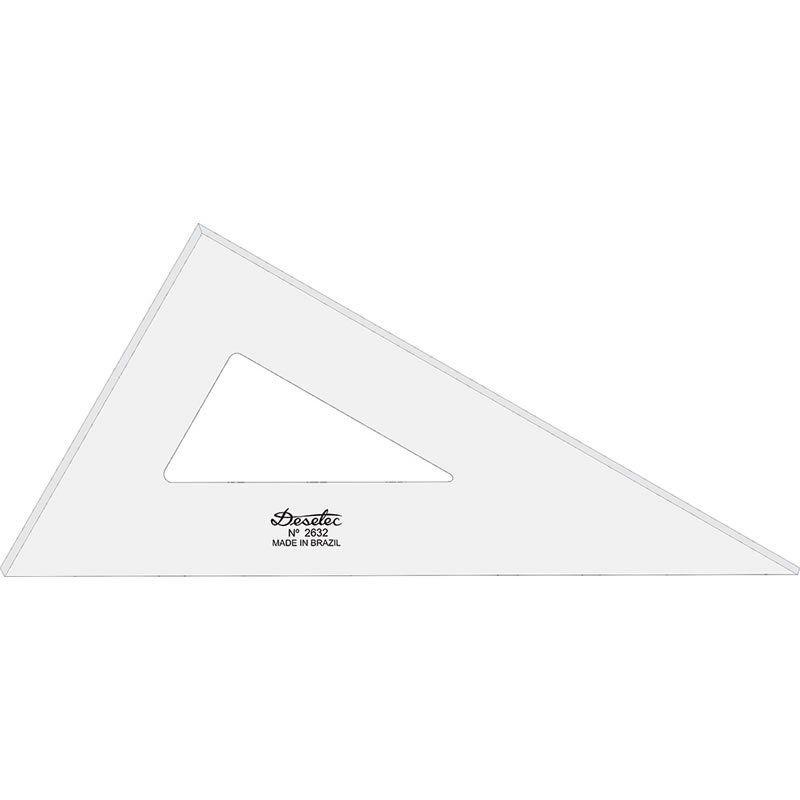 Esquadro Trident 32cm 60 Graus 2mm 2632 17050