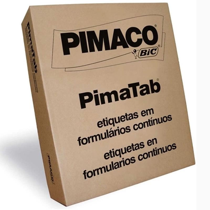 Etiqueta Pimaco 107X23 1 Colunas 6.000 Un 10723-1C 00558