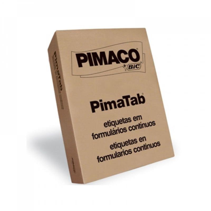 Etiqueta Pimaco 107X36 1 Coluna Com 4.000 Un 10736-1C 01232