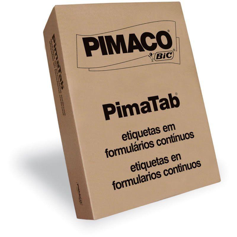 Etiqueta Pimaco 128X74 1 Coluna Com 2.000 Un 12874-1 00263