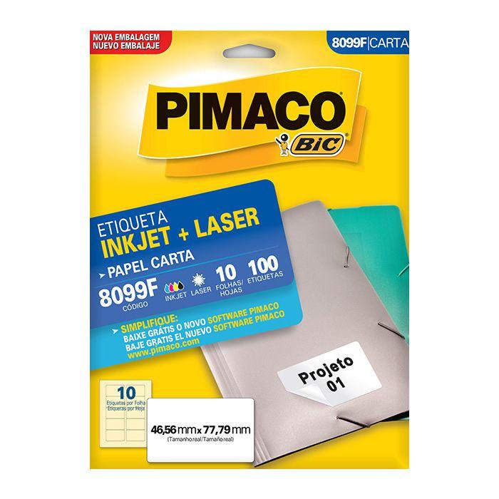 Etiqueta Pimaco Inkjet + Laser - 8099F 02170
