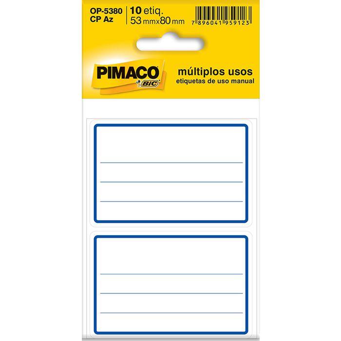 Etiqueta Pimaco Op-5380 02207