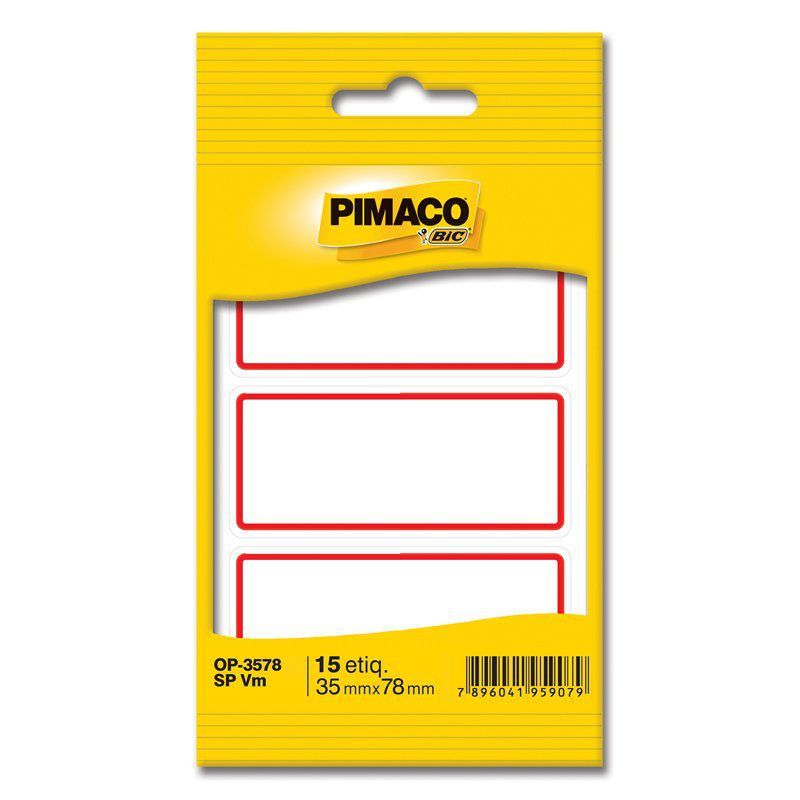 Etiqueta Pimaco Sem Pauta OP-3578 14607