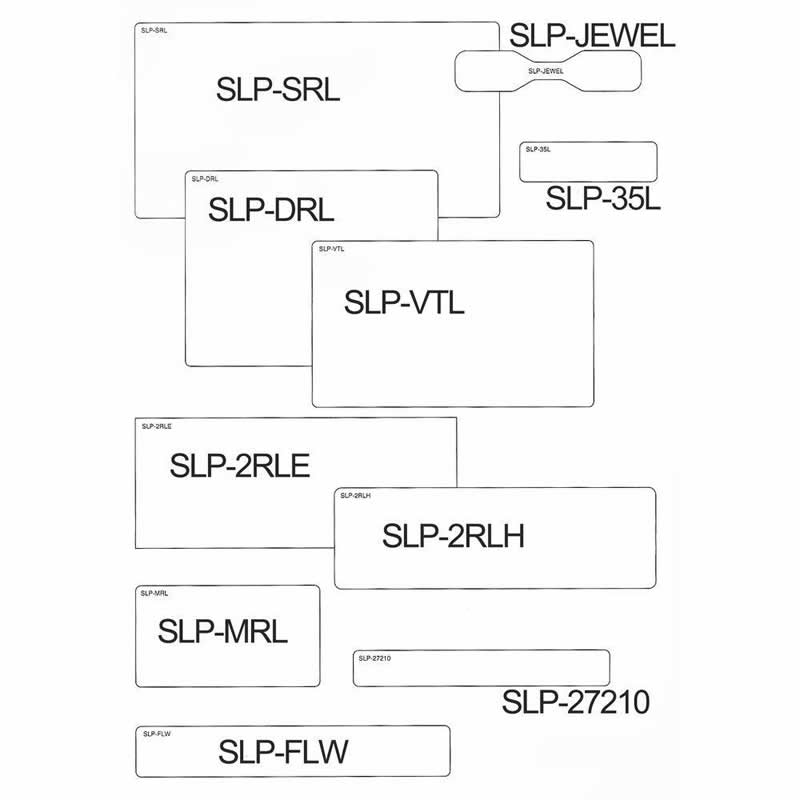 Etiqueta Pimaco Smart Label Printer SLP-VTL 14823