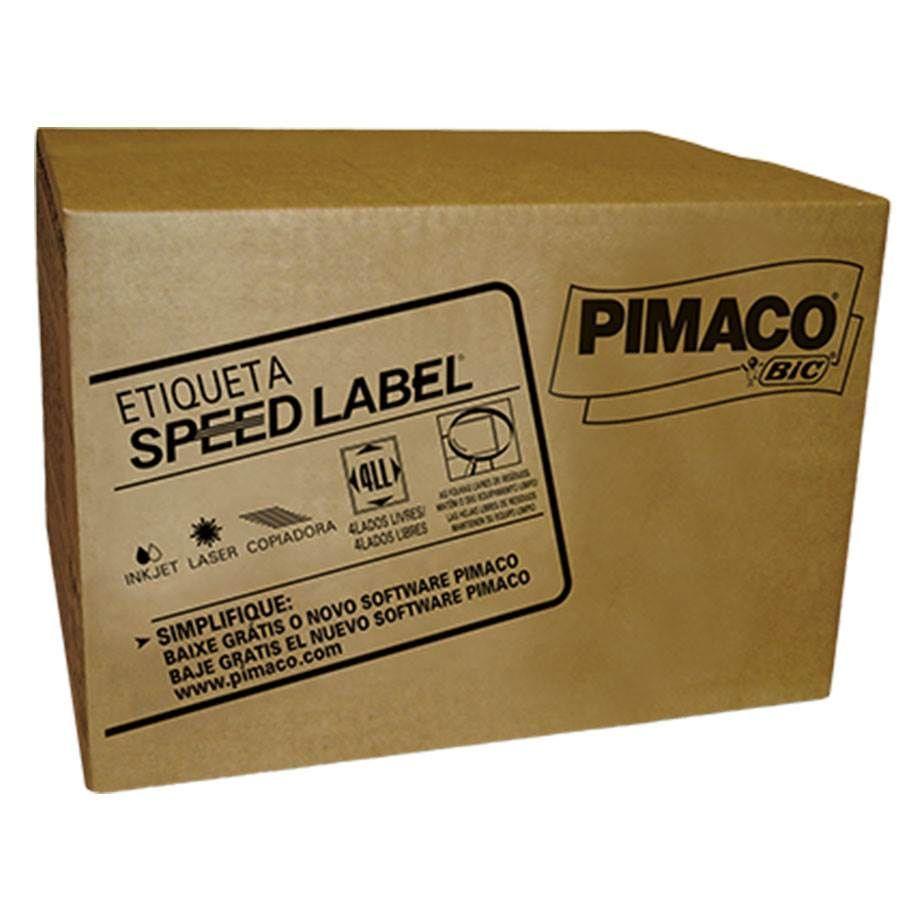 Etiqueta Pimaco Speed Label 23,3X74,3 1.000 fls Com 36.000 Un. Sla41074 09253