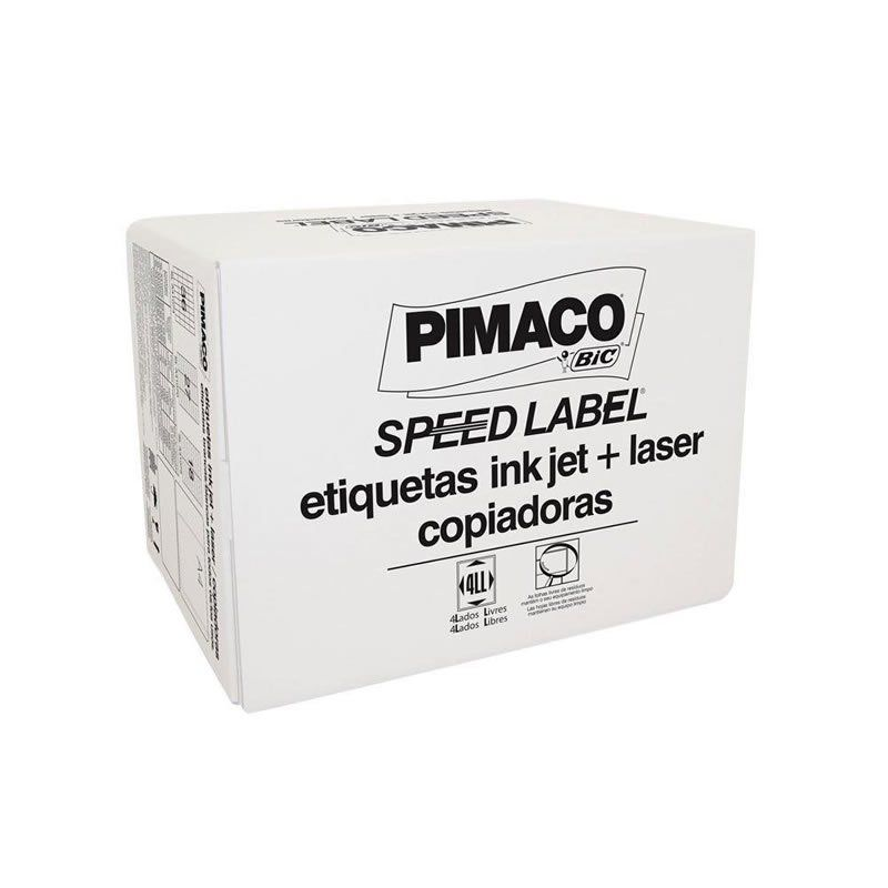 Etiqueta Pimaco Speed Label Carta 25,4X66,7 1.000 Fls Com 30.000 Un Sl61080 09208