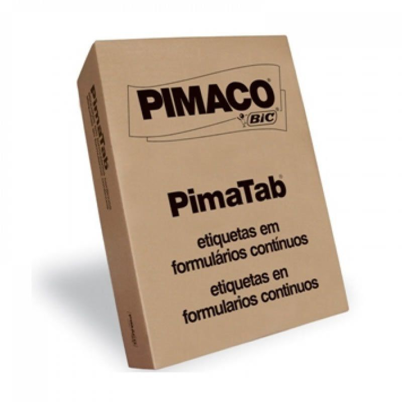 Etiqueta Pimaco Speed Label Carta 84,67X101,6 1.000 Fls Com 6.000 Un Sl61084 13120