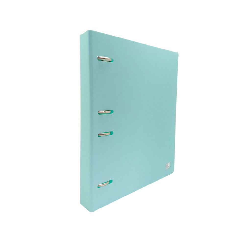 Fichario Yes 4 Arg. Colegial Tons Pastel Azul RC4EBC AZ 27656