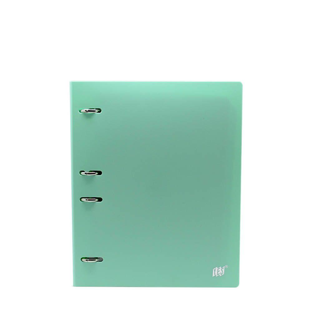 Fichario Yes 4 Arg. Colegial Tons Pastel Verde RC4EBC VD 27659