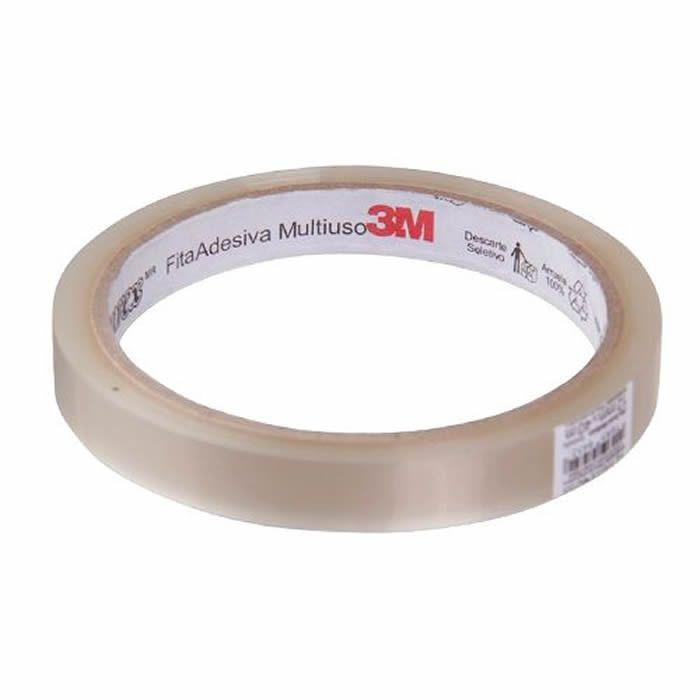 Fita Durex 3M Transparente 12mm X 50m 16092