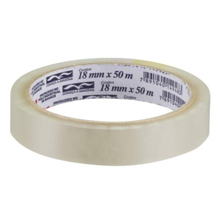 Fita Adesiva Durex™ Transparente 18 mm x 50 m 16017