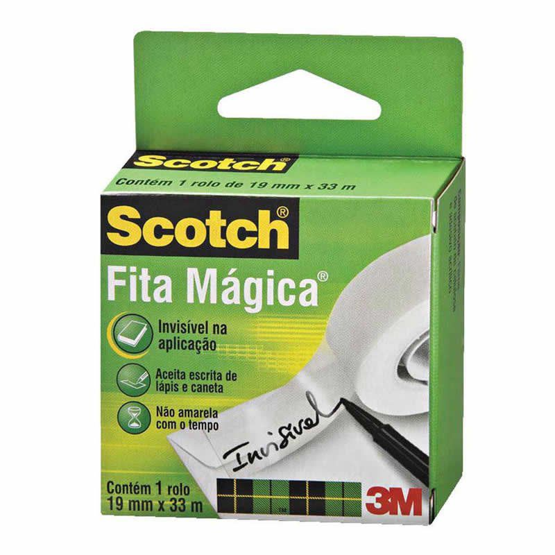 Fita Mágica Scotch® 19 mm x 33 m 01499