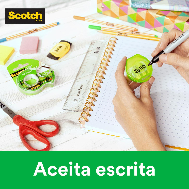 Fita Mágica Scotch®  com Suporte 12 mm x 10 m 02256