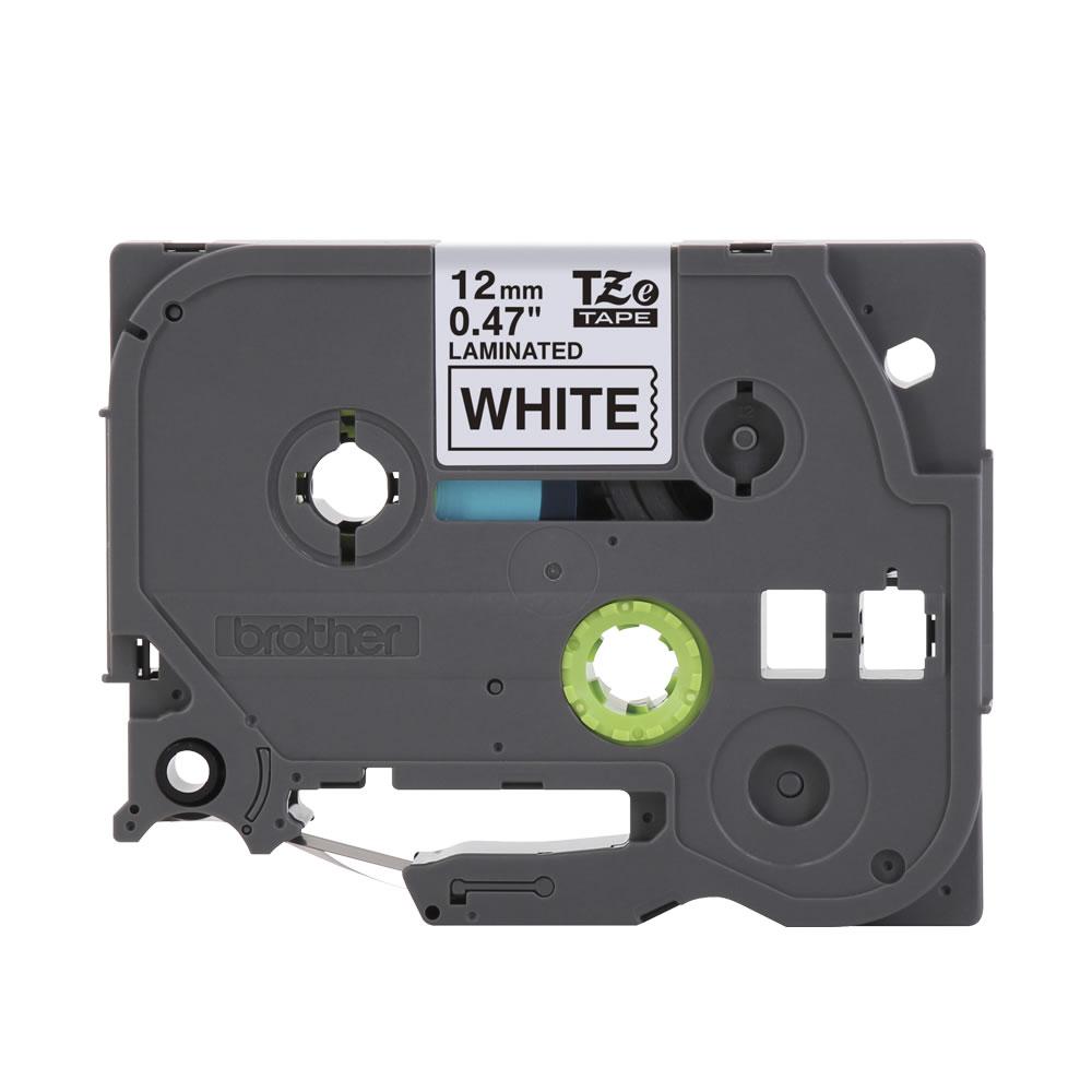 Fita Para Rotulador Brother Preto / Branco 12mm X 8m TZe231 16045