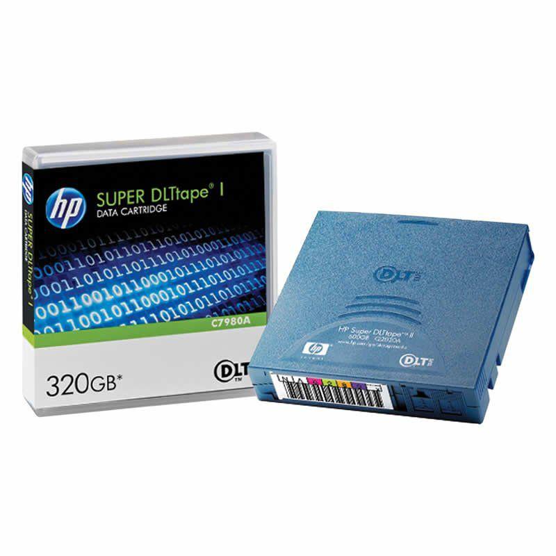 Fita Ultrium 320Gb C7980A HP 06476