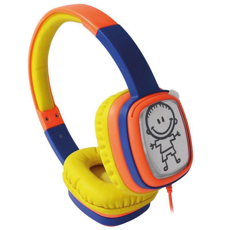 Fone Headphone Cartoon Infantil P2 Kid HP302 OEX 25400