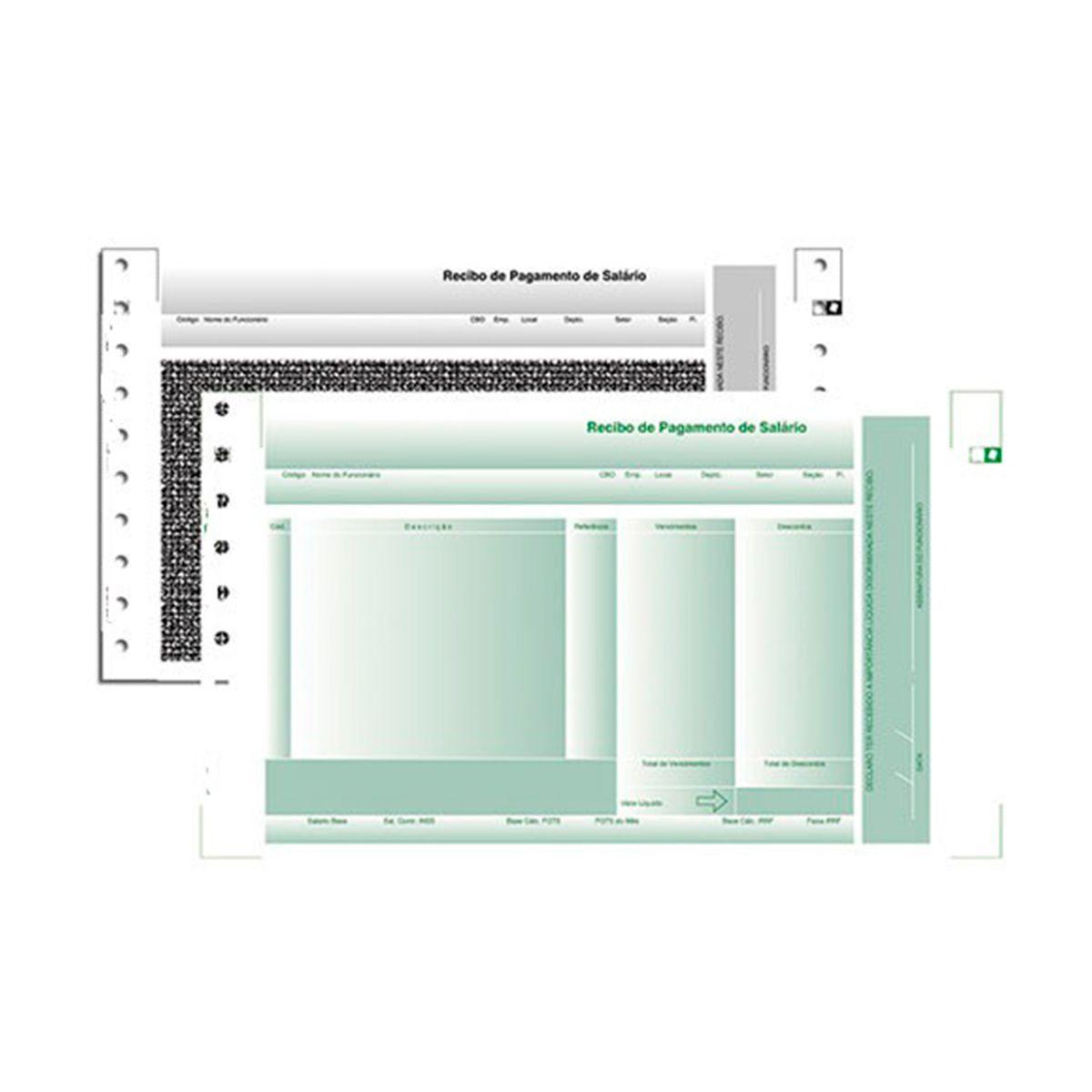 Formulário Agaprint 3 Vias LAB-04 Com Bloqueio Caixa Com 2000 Jgs Autocopiativo 2200402 27252