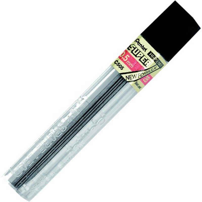 Grafite 0.5mm 2B Pentel 12 Estojos Com 12 Minas C505-2BPB 15354