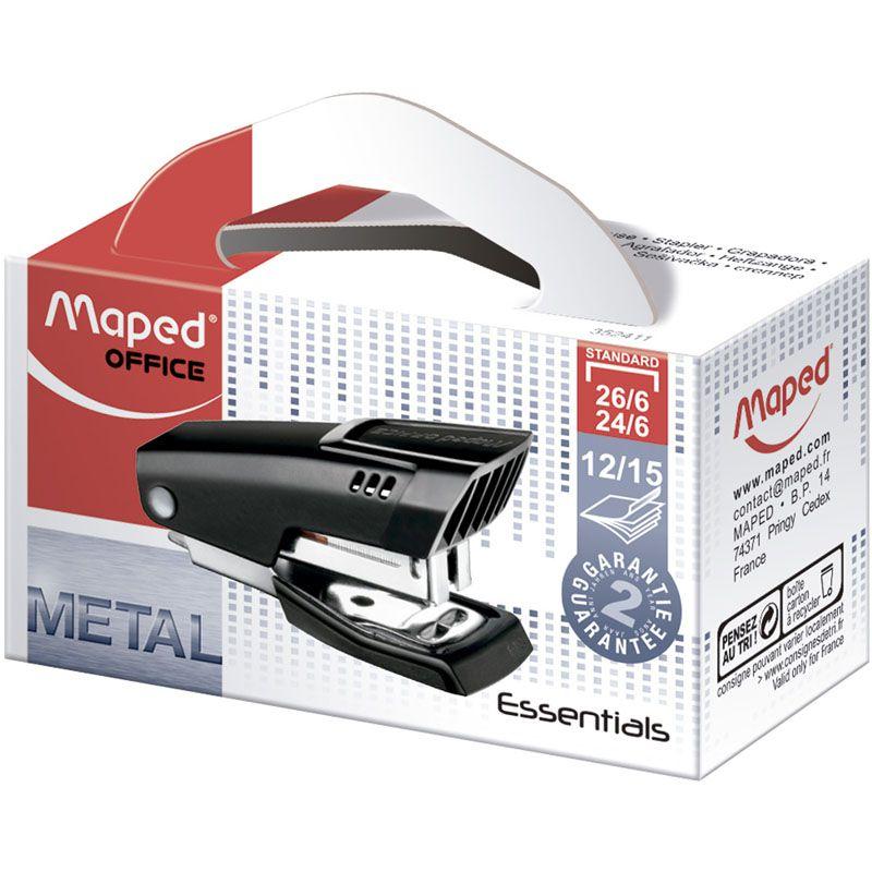 Grampeador Mini Metal 15 Fls 352411 Maped 23125