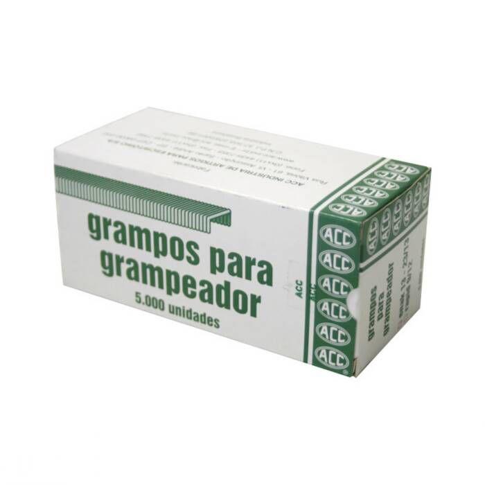 Grampo 23/13 Aço Galvanizado Com 5000 Un. ACC 02417