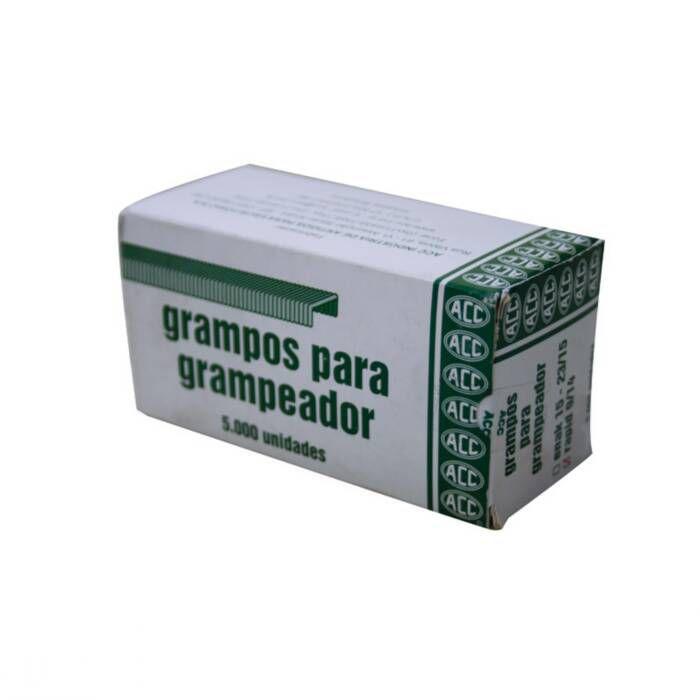 Grampo 9/14 Aço Galvanizado Com 5000 Un. ACC 01895