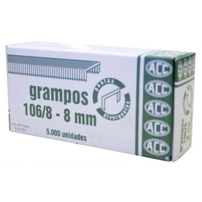 Grampo 106/8 Rocama Com 5000 Un. ACC 13444