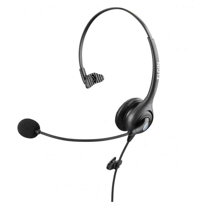 Fone Headset Com Conector QD F11-1NSQD Elgin 24488