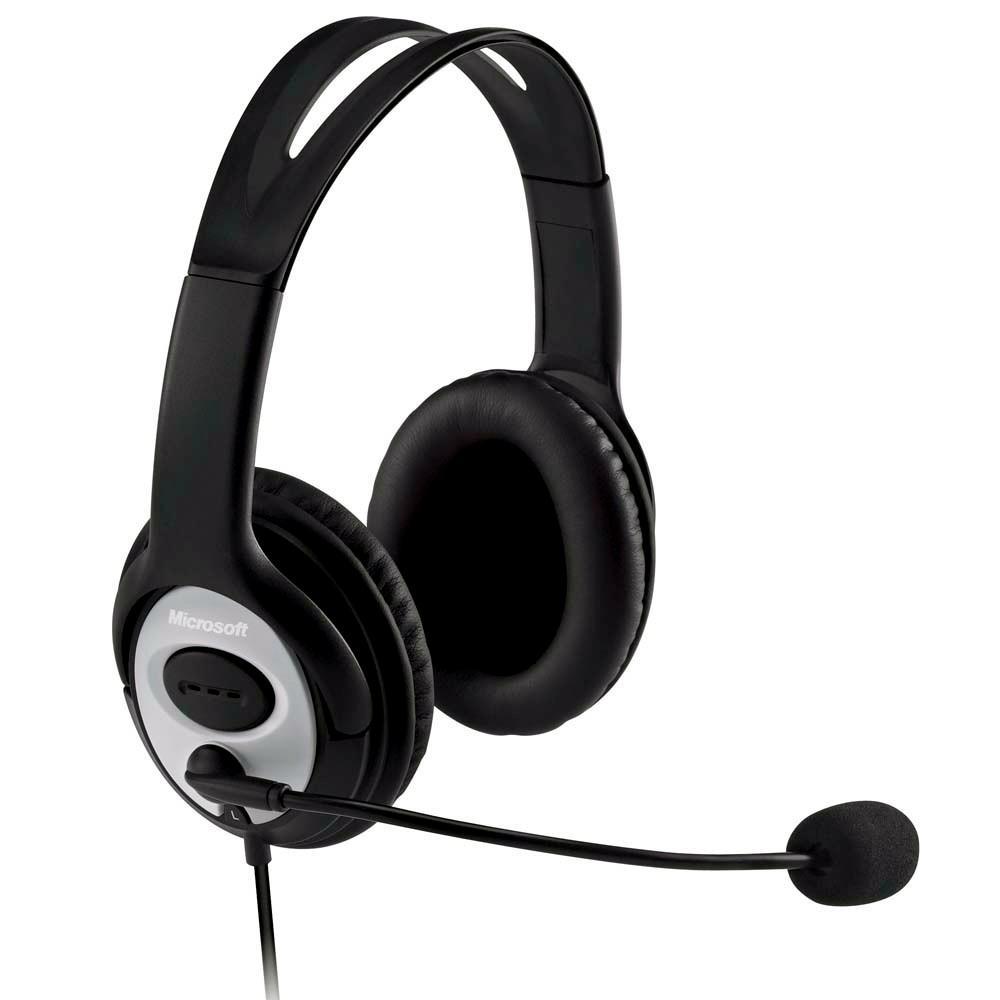 Headset Microsoft LX-3000 USB Preto JUG00013 27680