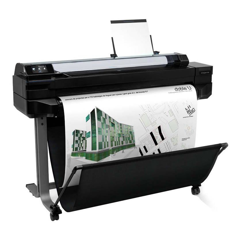 Impressora Plotter HP Designjet T520 e-Printer 36 Polegadas CQ893B 24980