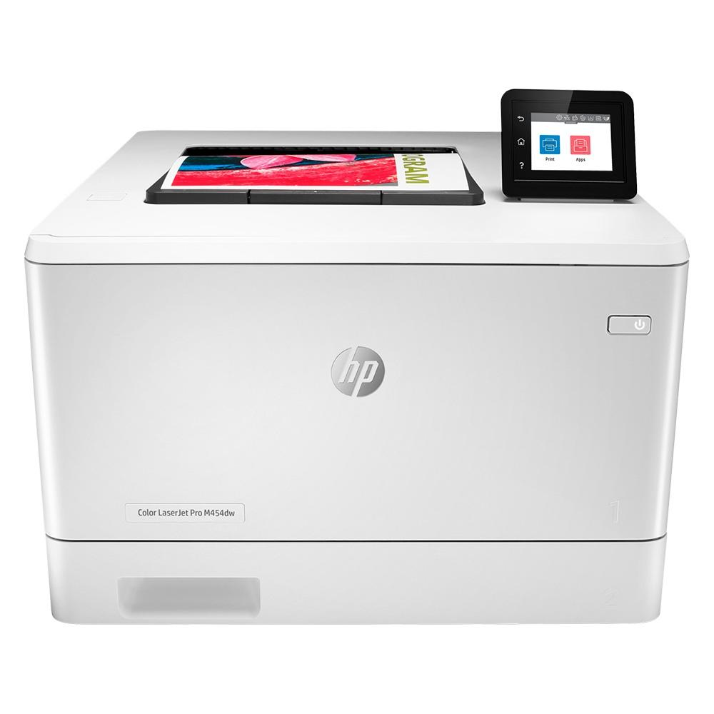 Impressora Convencional Hp Laserjet Pro M454dw Laser Colorida Usb, Ethernet e Wi-fi 110v